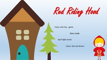 Little Red Riding Hood Short Unit