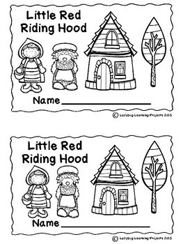 Little Red Riding Hood (Emergent Reader, Lap Book, Picture / Vocabulary Cards)