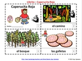 Little Red Riding Hood Spanish Booklets - Libritos de Caperucita Roja