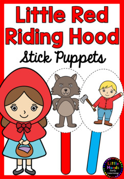 Little Red Riding Hood Puppets Worksheets Teaching Resources Tpt