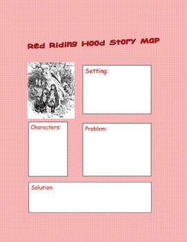 Little Red Riding Hood Story Map