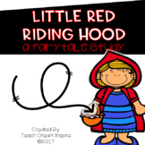Little Red Riding Hood Fairy Tale Study