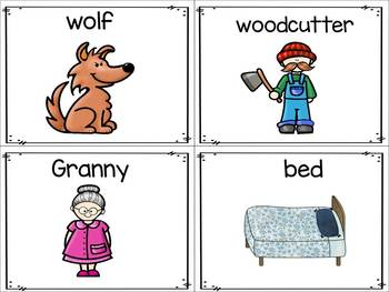 Syllables ~ Little Red Riding Hood