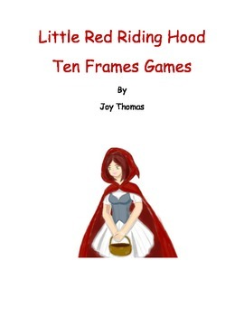 Little Red Riding Hood Ten Frames Games