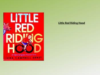 Little Red Riding Hood Text Talk