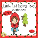 Little Red Riding Hood Fairy Tales Worksheets Activities P