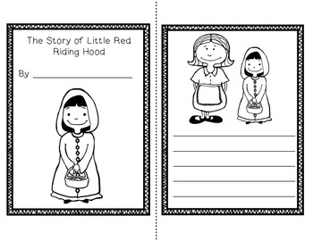 Little Red Riding Hood Unit~ Includes Graphic Organizers & Much More!