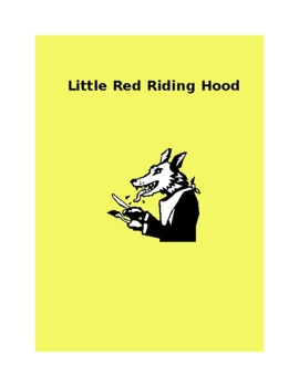 Little Red Riding Hood Unit for Young Children