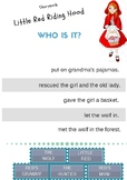 Little Red Riding Hood - Who is it? Activity
