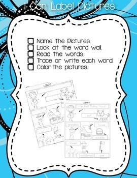 Little Red Riding Hood Writing and Literacy Center Activities