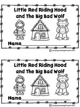 Little Red Riding Hood and The Big Bad Wolf Book and Writing Bundle