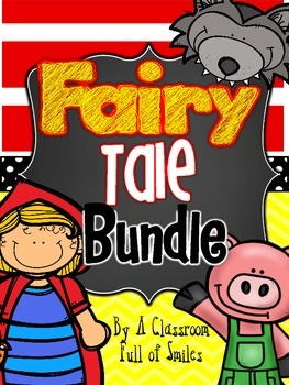 Little Red Riding Hood and The Three Little Pigs Craft and iPad Project