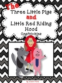 Little Red Riding Hood and The Three Little Pigs Craftivities with Writing Pages