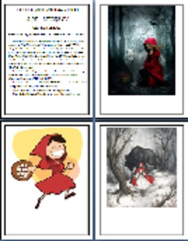 """Little Red Riding Hood and the Wolf"" (& Other Versions)  Printable Activities"