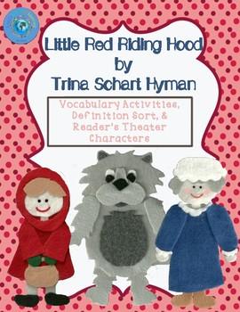 Little Red Riding Hood by Trina Schart Hyman - Vocabulary Activities