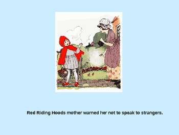 Little Red Riding Hood power point presentation