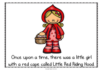 Little Red Riding Hood powerpoint story