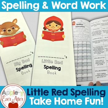 Little Red Spelling Book & Big Bad Spelling book