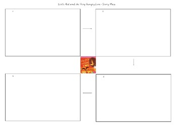 Little Red and The Very Hungry Lion Story Map