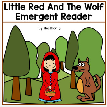 Little Red and the Wolf Emergent Reader