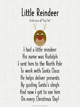 Little Reindeer Song