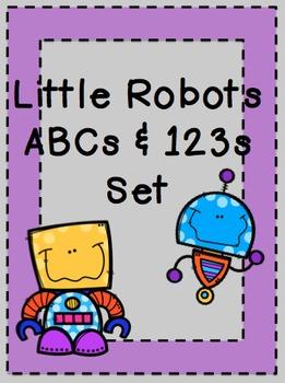 Little Robots ABCs & Numbers Set