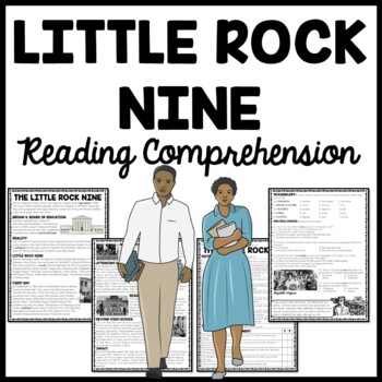 Little Rock Nine Civil Rights Reading Comprehension