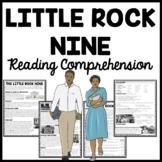 Little Rock Nine Civil Rights Reading Comprehension Worksheet School Integration