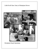 Little Rock Nine: Story of Minnijean Brown Document Based