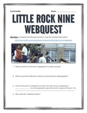 Little Rock Nine - Webquest with Key (Civil Rights Movement)