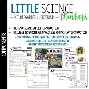 Little SCIENCE Thinkers UNIT 4: Plants