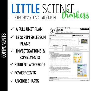 Little SCIENCE Thinkers UNIT 4: Plants  {Kindergarten Science}