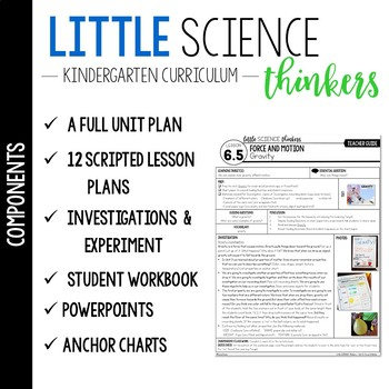Little SCIENCE Thinkers UNIT 6: Force and Motion