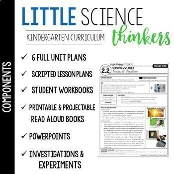 Little  SCIENCE Thinkers YEAR-LONG Kindergarten CURRICULUM