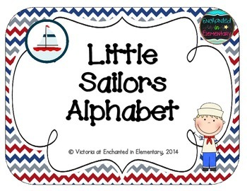 Little Sailors Alphabet Cards