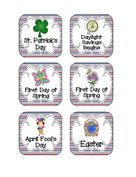 Little Sailors Holiday Calendar Pieces