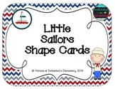 Little Sailors Shape Cards