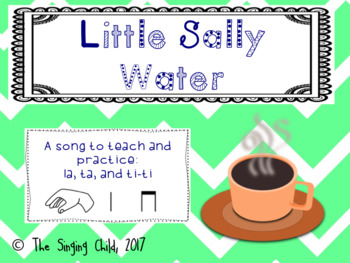 Little Sally Water: A Song to Teach la