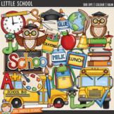 """Back to School Clip Art: """"Little School"""""""