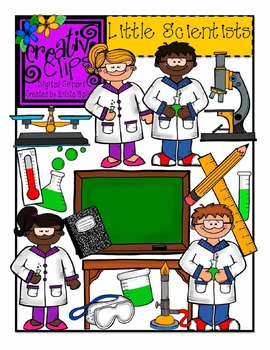 Little Scientists {Creative Clips Digital Clipart}