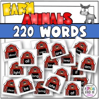 Little Sheep Sight Word Games - Bundled