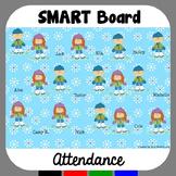 SMARTBoard Attendance Winter
