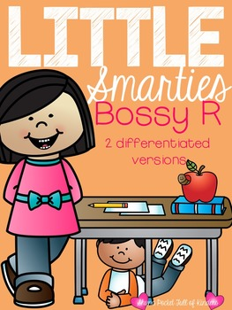 Little Smarties: Build A Bossy R Word Work