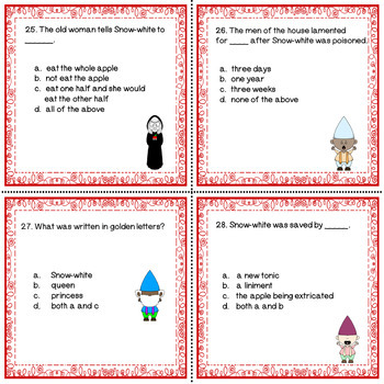 Brothers Grimm Little Snow-White Literacy