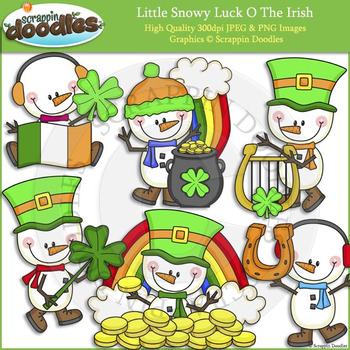 Little Snowy Luck O The Irish