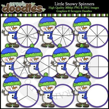 Little Snowy Spinners