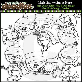 Little Snowy Super Hero