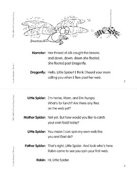 Little Spider Spins a Web (Leveled Readers' Theater, Grade 2)