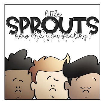 Little Sprouts   How Are You Feeling?   Posters