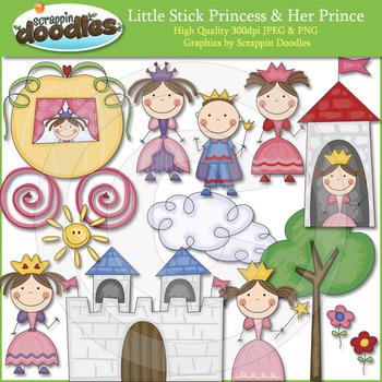 Little Stick Princess & Her Prince